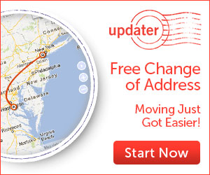 updater, free change of address